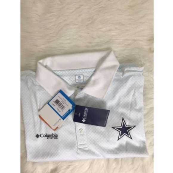 9240bb3accb columbia Shirts | New Dallascowboys Mens Polo Shirt Pfg | Poshmark